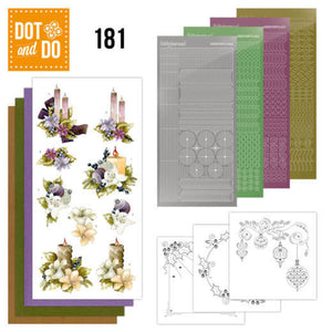 Dot & Do Kit 181 A Touch of Christmas Candles