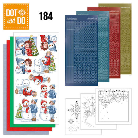 Dot & Do Kit 184 Bubbly Girls - Christmas