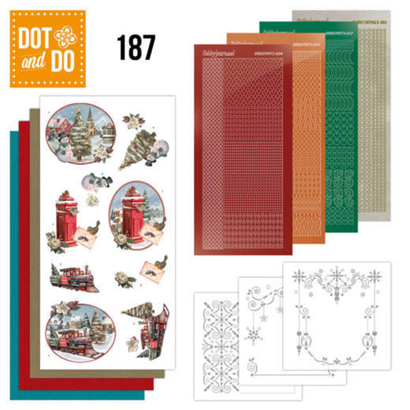 Dot & Do Kit 187 Nostalgic Christmas - Christmas Train