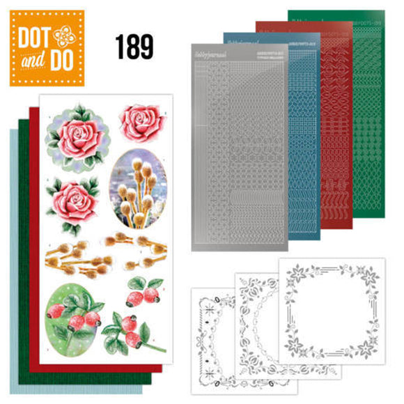 Dot & Do Kit 189 - Winter Flowers