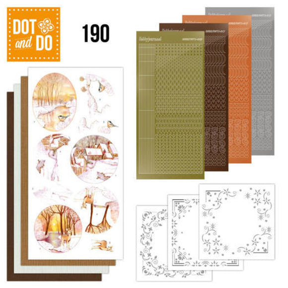 Dot & Do Kit 190 - Yellow Forest