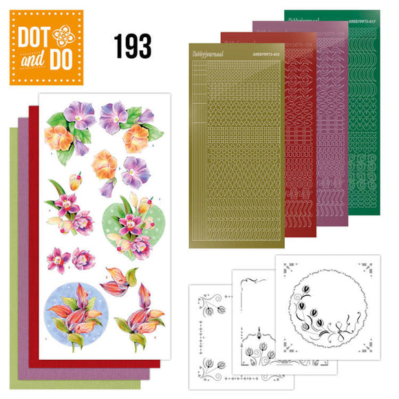 Dot & Do Kit 193 - Orchid