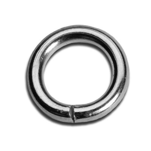 4mm Heavy Duty Jump Rings Gold or Silver Plate