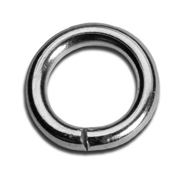 5mm Heavy Duty Jump Rings Gold or Silver Plate