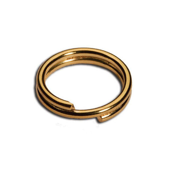 5mm Split Rings Gold or Silver Plated Pack of 100