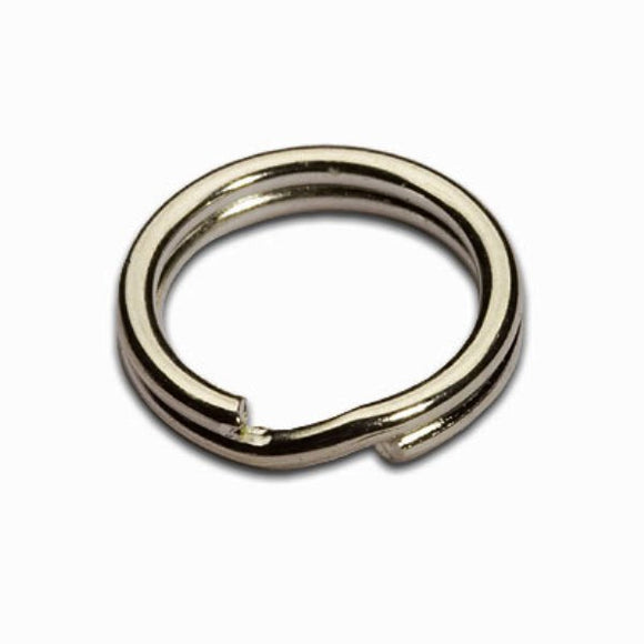 7mm Split Rings Silver Plated Pack of 100