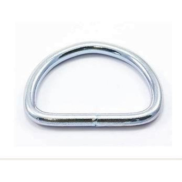 D Rings 20mm Welded Nickel Plated Pack of 10