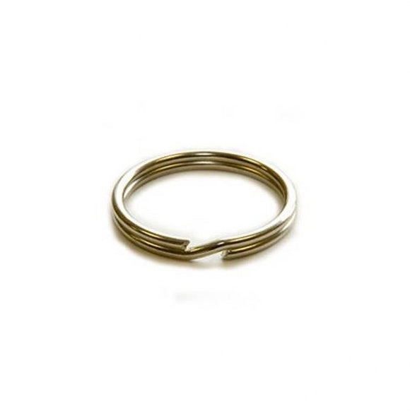 10mm Split Rings Nickel Plated Pack of 100