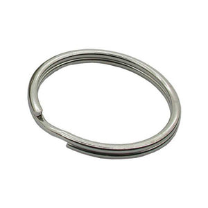 20mm Split Rings Nickel Plated Pack of 50