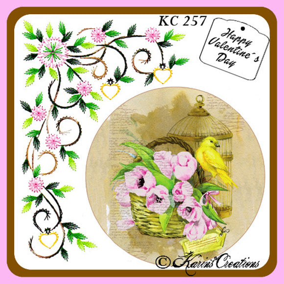 Karins Creations Pattern Sheet KC257