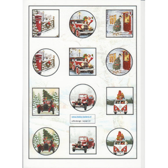 Nostalgic Christmas Images Mini Topper Sheet