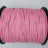 2mm Round Leather Cord in Pastel Colours