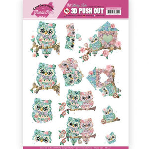 Kitschy Lala Die Cut Decoupage - Kitschy Owls