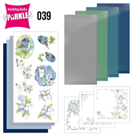 Hobbydot Sparkles Set 39 - Jeanine's Art - Sensitive Moments