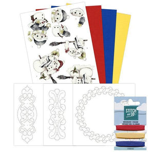 Stitch & Do Kit 003 - Winter Designs