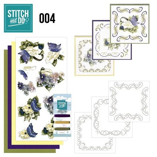 Stitch & Do Kit 004 - More Flowers