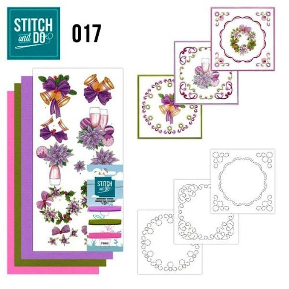 Stitch & Do Kit 017 - Simply Christmas