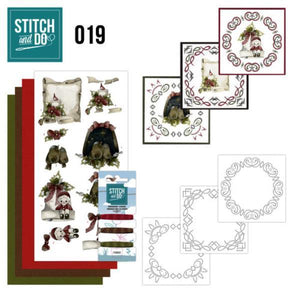 Stitch & Do Kit 019 - Snowy Detail