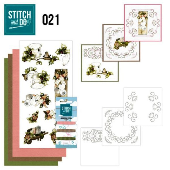 Stitch & Do Kit 021 - Rustic Christmas