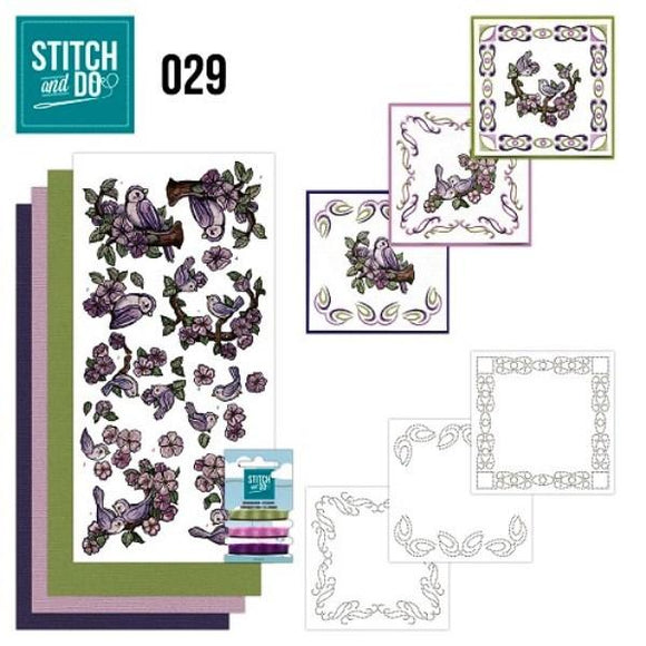 Stitch & Do Kit 029 - Cute Birds