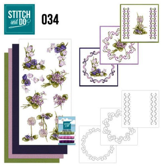 Stitch & Do Kit 034 - Field Flowers