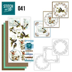 Stitch & Do Kit 041 - Christmas Birds