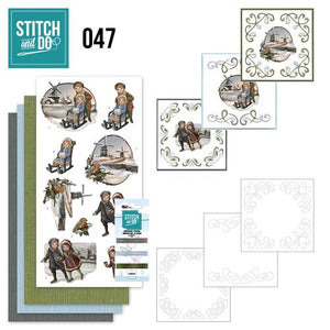 Stitch & Do Kit 047 - Winterglow