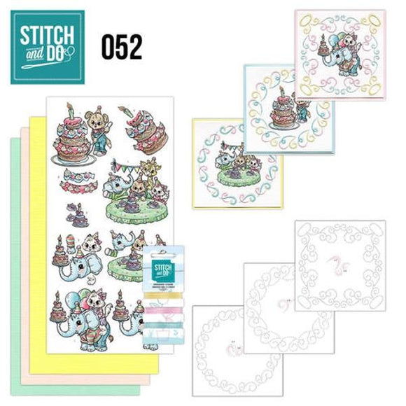 Stitch & Do Kit 052 - Tots & Toddlers