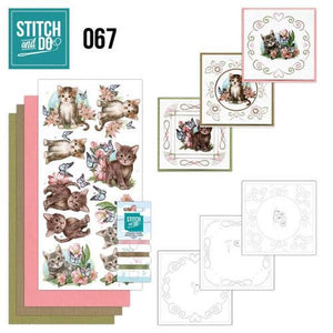 Stitch & Do Kit 067 - Cats