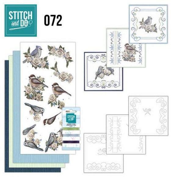 Stitch & Do Kit 072 - Vintage Winter