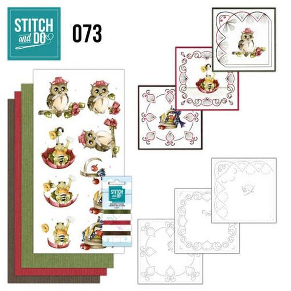 Stitch & Do Kit 073 - Get Well Soon