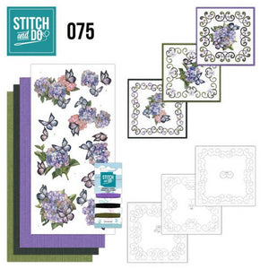 Stitch & Do Kit 075 - Hortensia