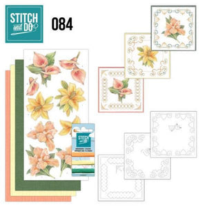 Stitch & Do Kit 084 - Yellow Flowers