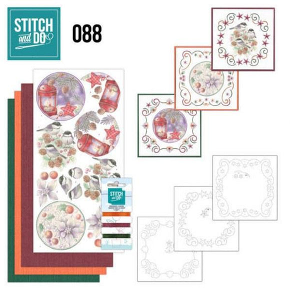 Stitch & Do Kit 088 - Christmas Florals