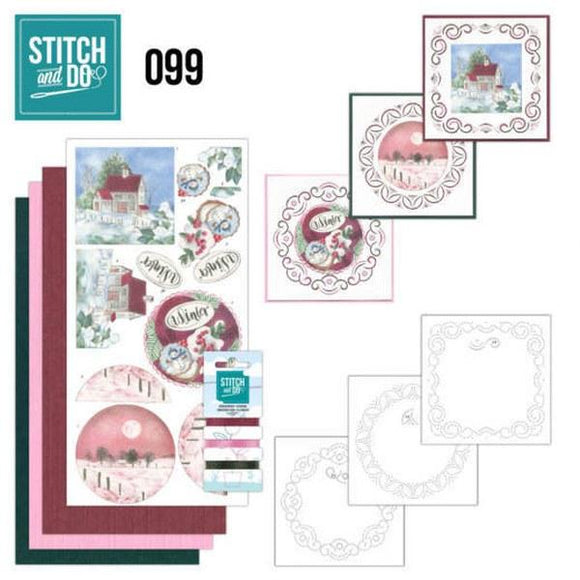 Stitch & Do Kit 099 - Winter Night