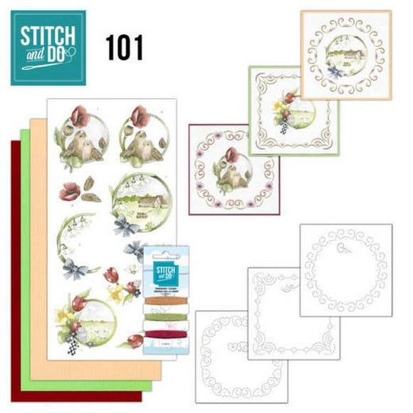 Stitch & Do Kit 101 - Spring Life