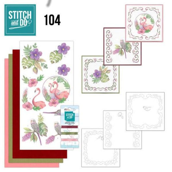 Stitch & Do Kit 104 - In the Tropics