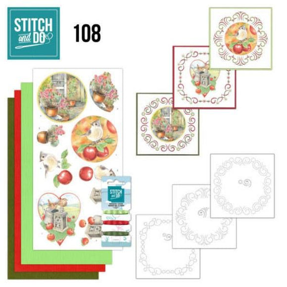 Stitch & Do Kit 108 - Outdoor Beauty