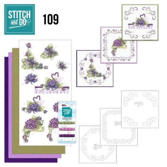 Stitch & Do Kit 109 - Summer Dahlias