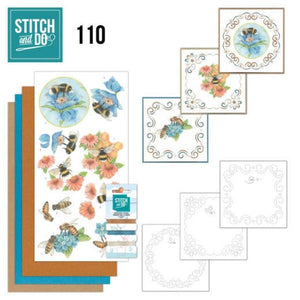 Stitch & Do Kit 110 - Bees & Flowers