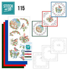 Stitch & Do Kit 115 Christmas Birds