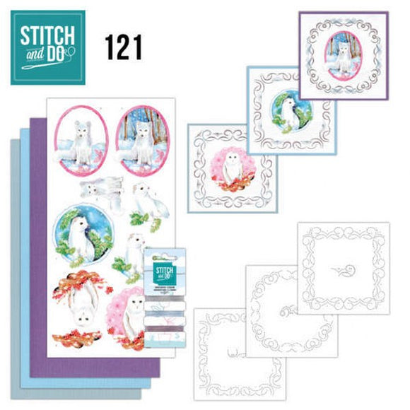 Stitch & Do Kit 121 Winter Friends
