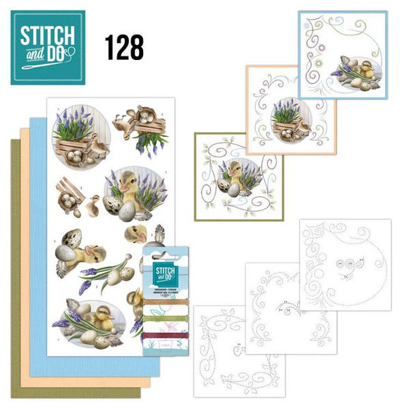 Stitch & Do Kit 128 Botanical Spring