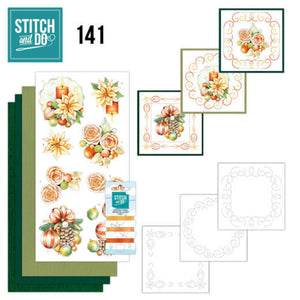 Stitch & Do Kit 141 - Salmon Christmas Baubles