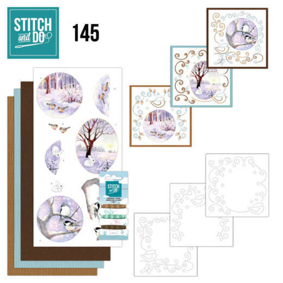 Stitch & Do Kit 145 - Winter Landscape