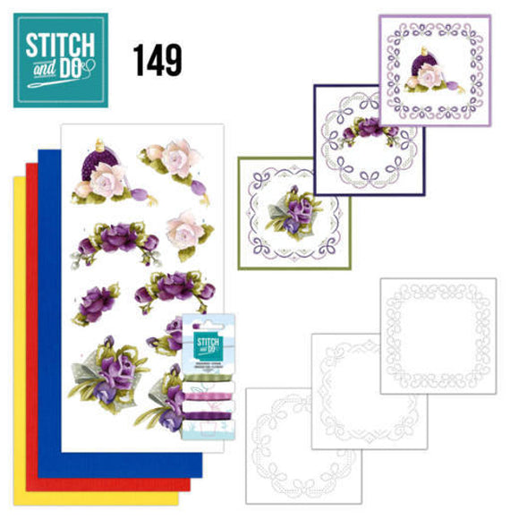 Stitch & Do Kit 149 - Romantic Roses