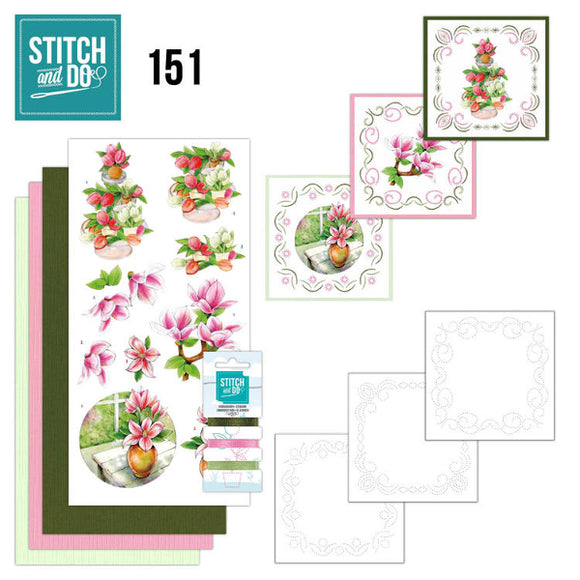 Stitch & Do Kit 151 - Welcome Spring