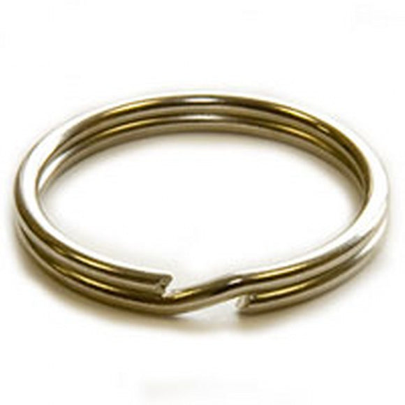 30mm Split Rings Nickel Plated Pack of 50