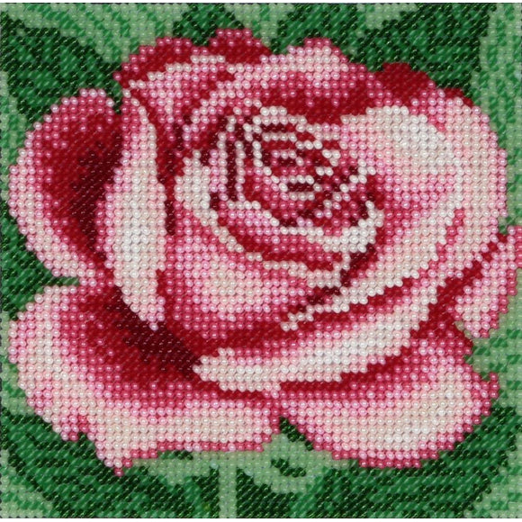Rose Beaded Embroidery Kit from VDV