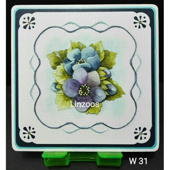Linzoos Pattern Sheet W31
